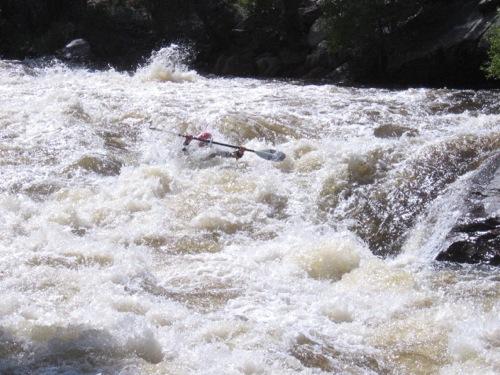 Me, kayaking my favorite river.